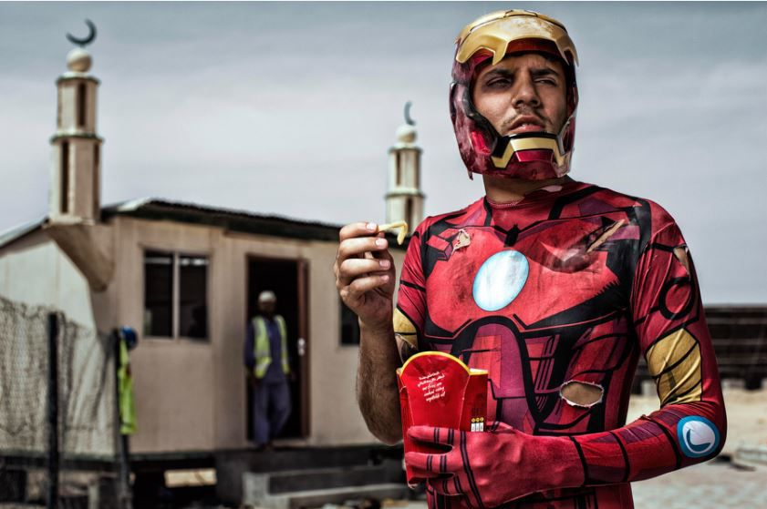 super heroes photography 9