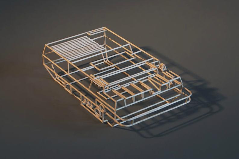 wireframe objects 3