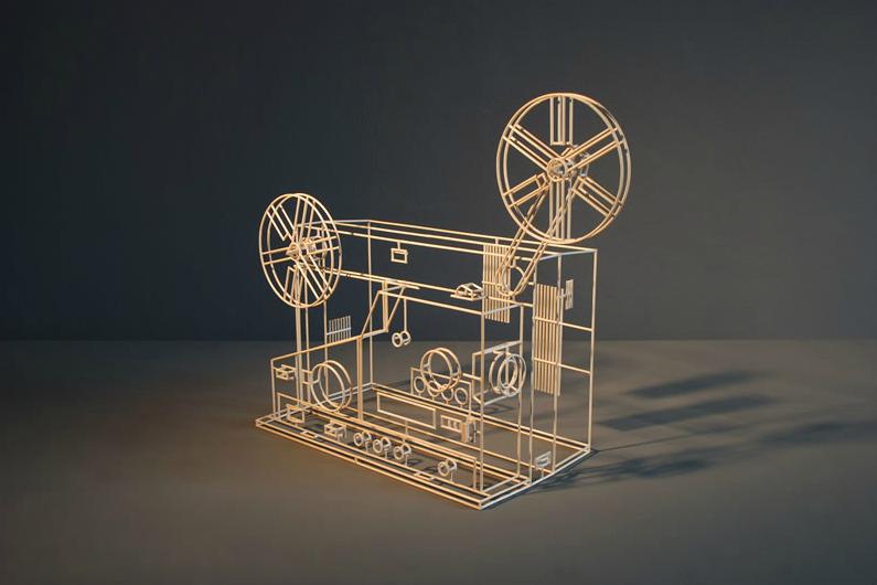 wireframe objects 5