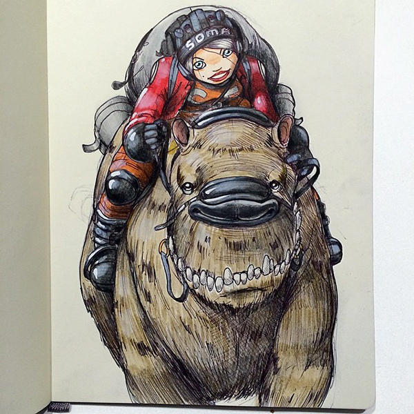 Norio Fujikawa illustration 3