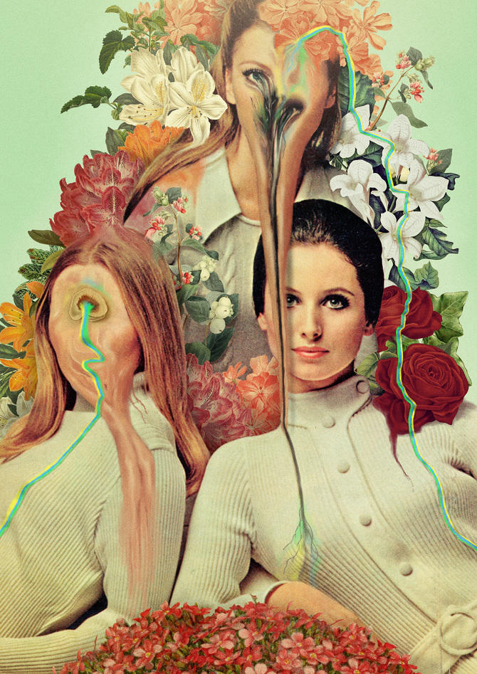 Pierre Schmidt collages 2