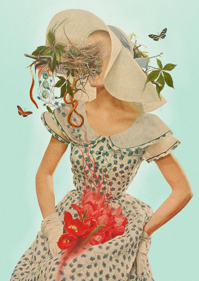 Pierre Schmidt collages 8