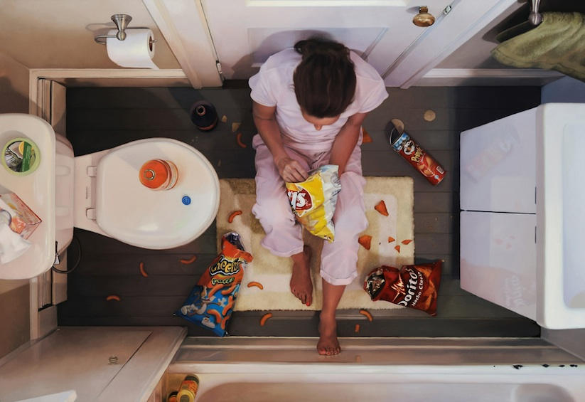 food women and hyperrealistic painting 2-1