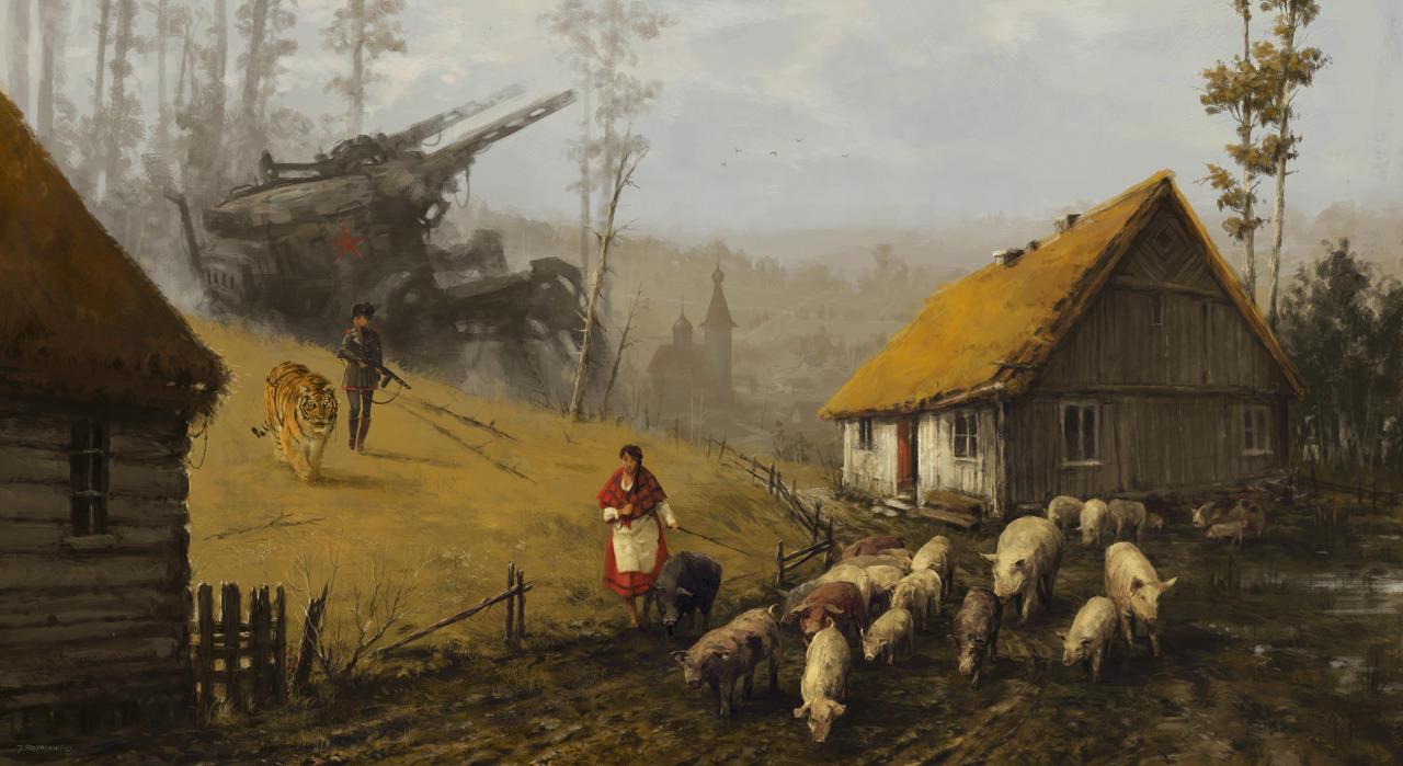 jakub-ralski-war-illustration-robots-6