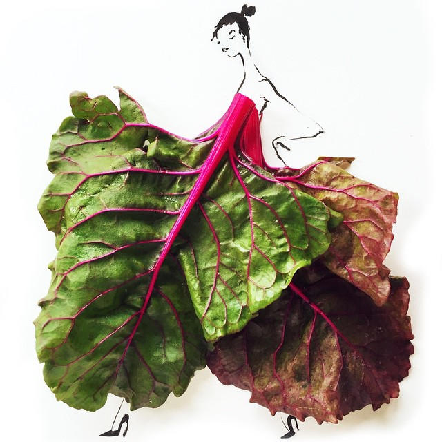 27Gretchen Roehrs fashion food illustration 6
