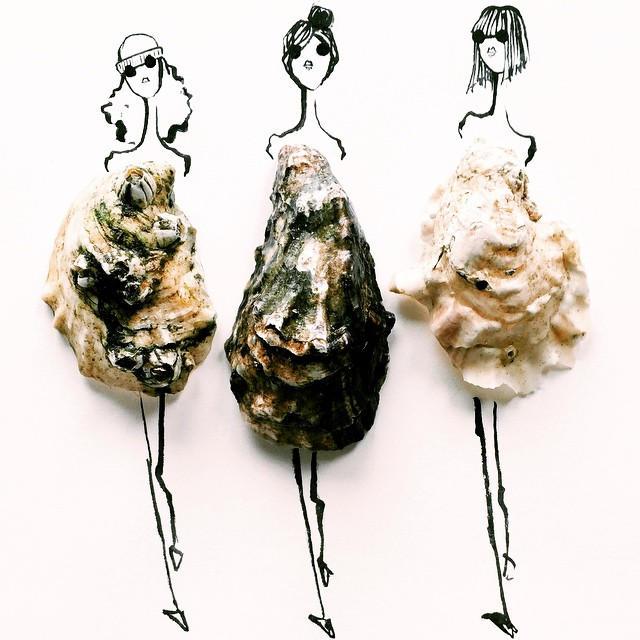 7Gretchen Roehrs fashion food illustration 5