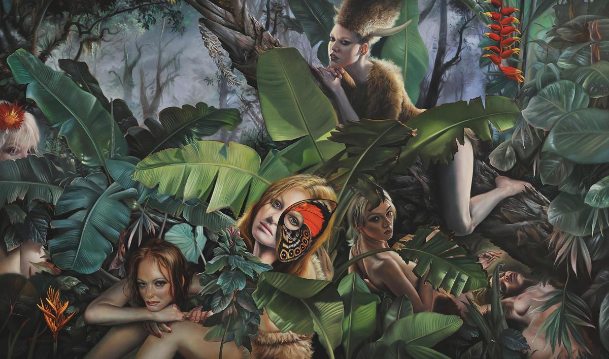 David Bowers painting oldskull 3-3