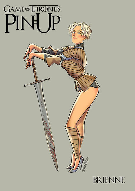 Game of Thrones pin up girls 10