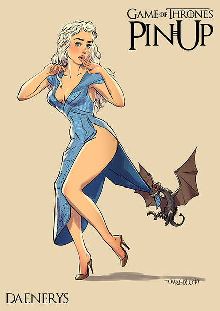 Game of Thrones pin up girls 13