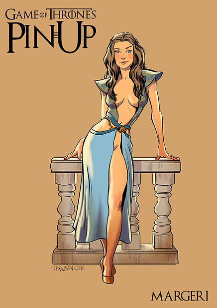 Game of Thrones pin up girls 3