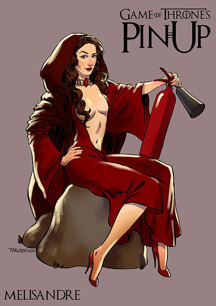 Game of Thrones pin up girls 9