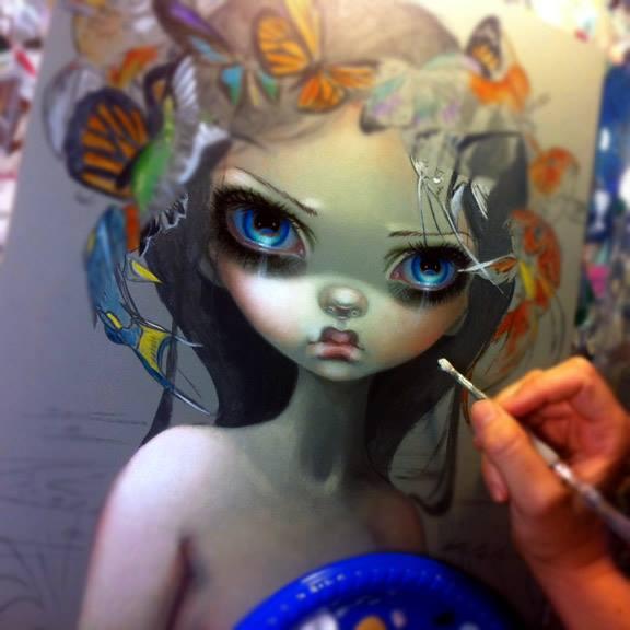 : Las muñequitas de Jasmine Becket-Griffith: Jasmine_Becket-Griffith_illustration-2