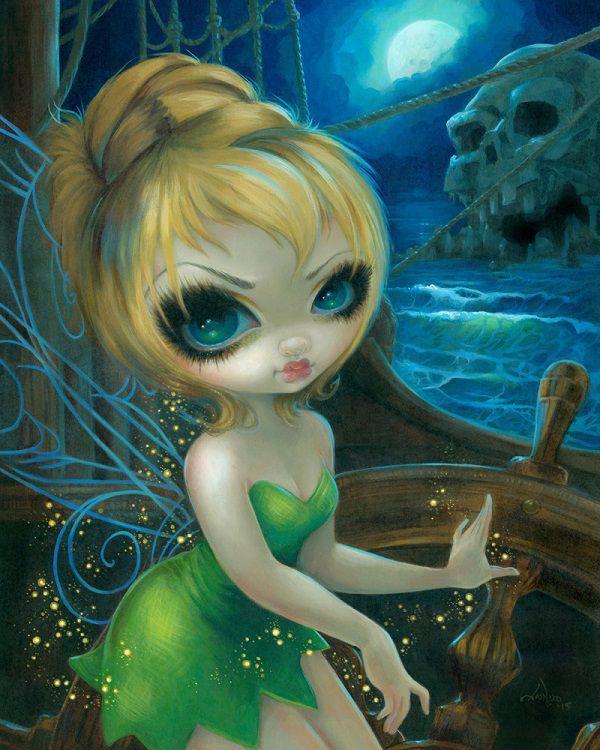 : Las muñequitas de Jasmine Becket-Griffith: Jasmine_Becket-Griffith_illustration-3