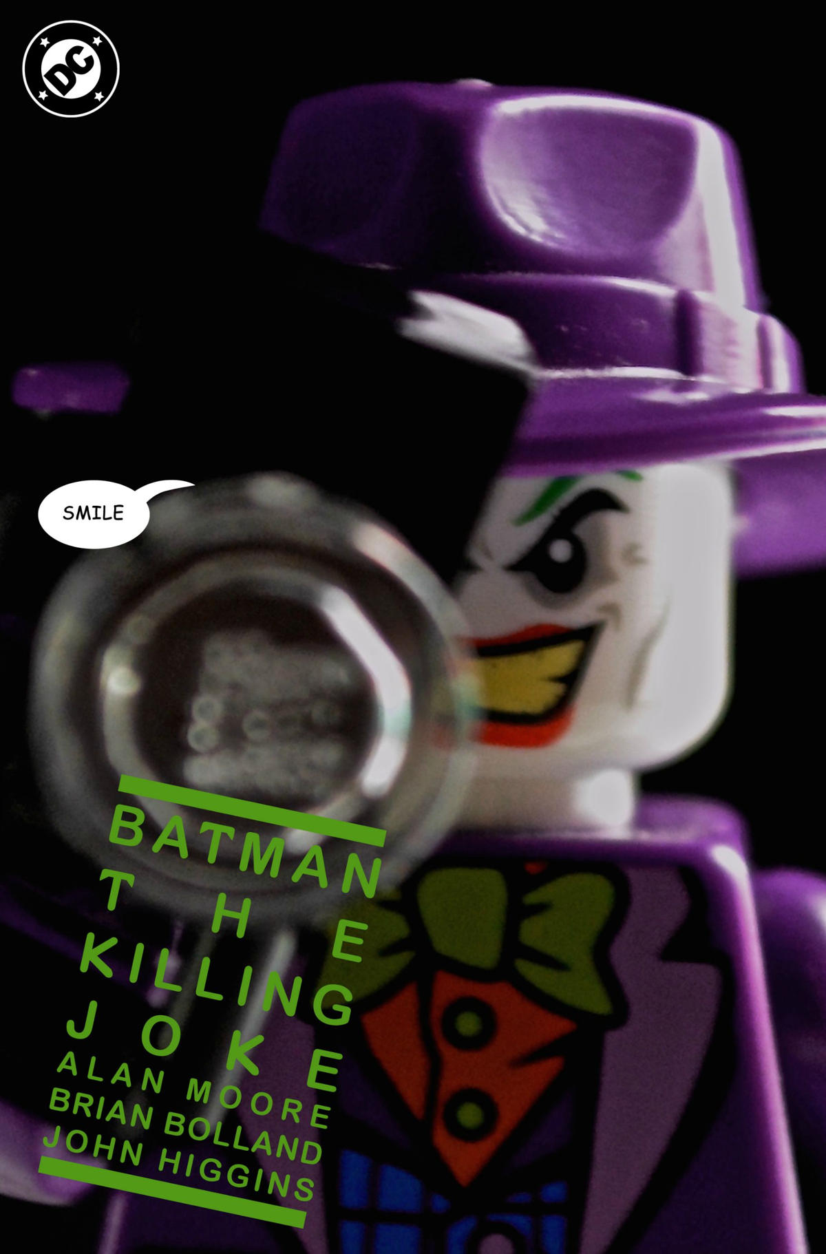 the killing joke comic lego