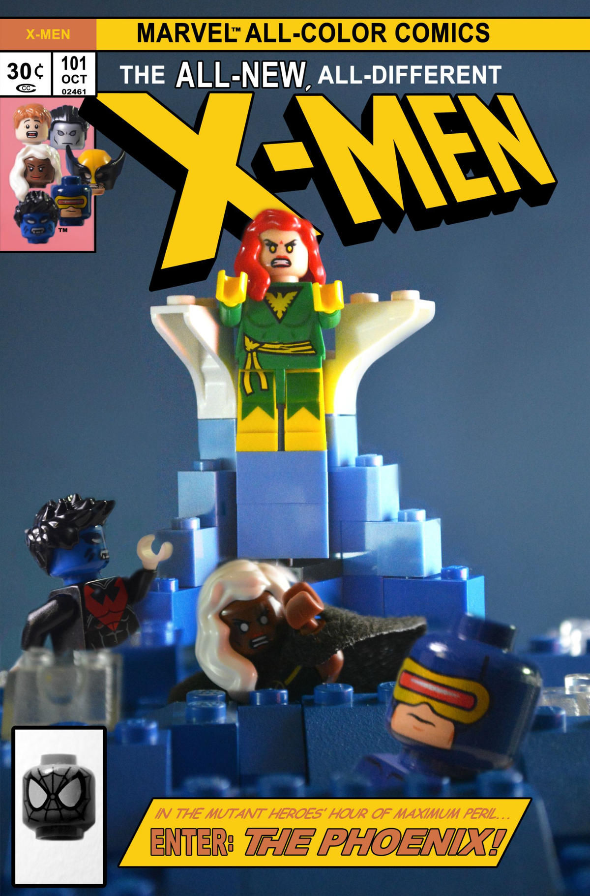 x men 101 comic lego oldskull