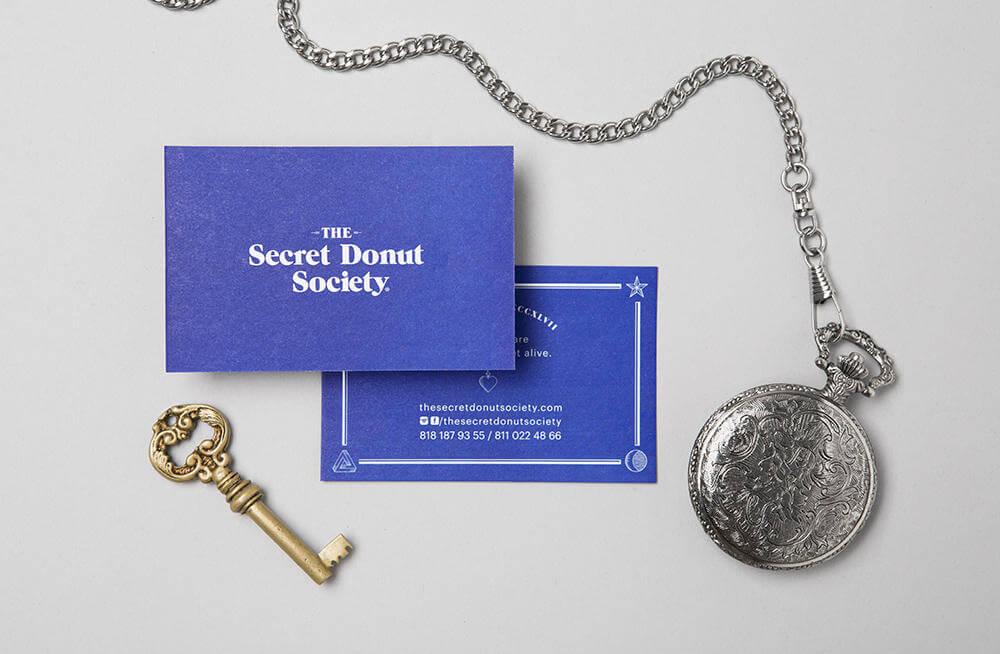 the secret donut society branding oldskull 2