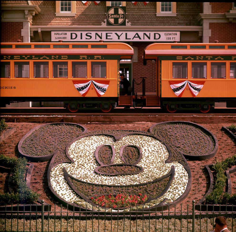 Disneyland photography in 1955 (3)