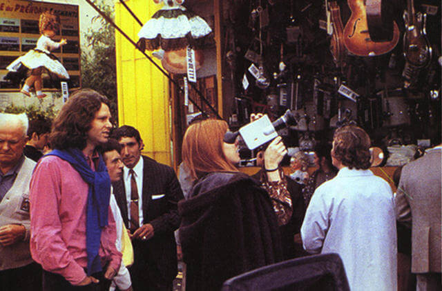 Last Known Photos of Jim Morrison in Paris on June 28, 1971