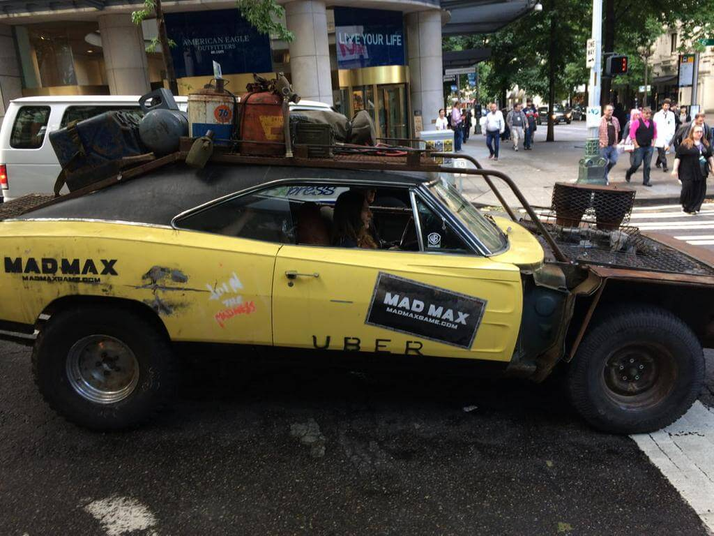 Mad Max Uber Service in Seattle 4