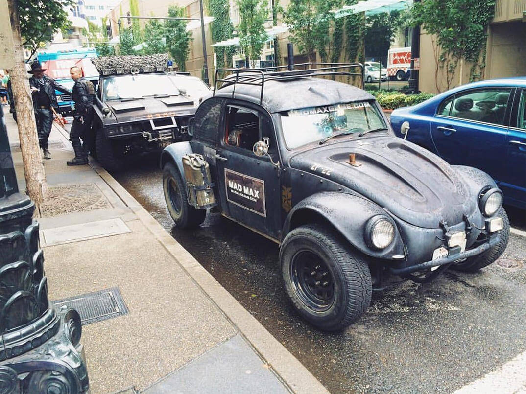 Mad Max Uber Service in Seattle 8