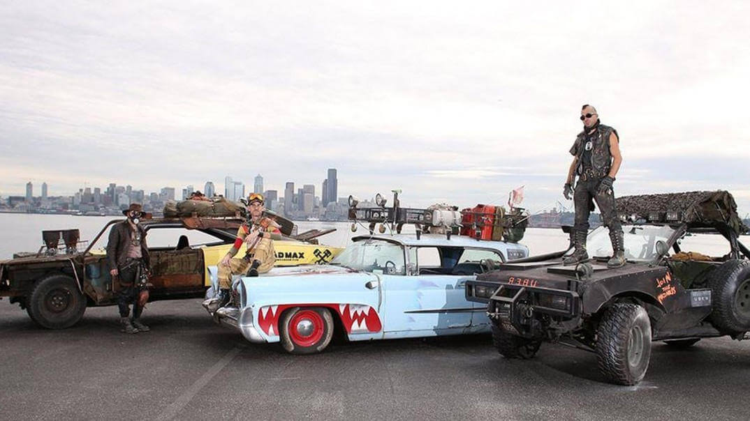 Mad Max Uber Service in Seattle 9