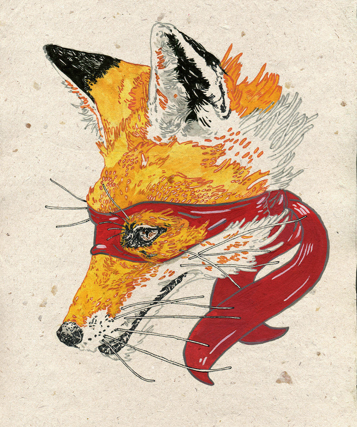 Michael Howard illustration oldskull 10