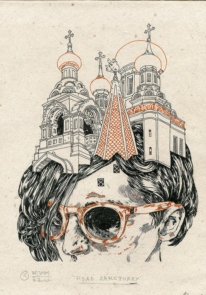 Michael Howard illustration oldskull 4-1