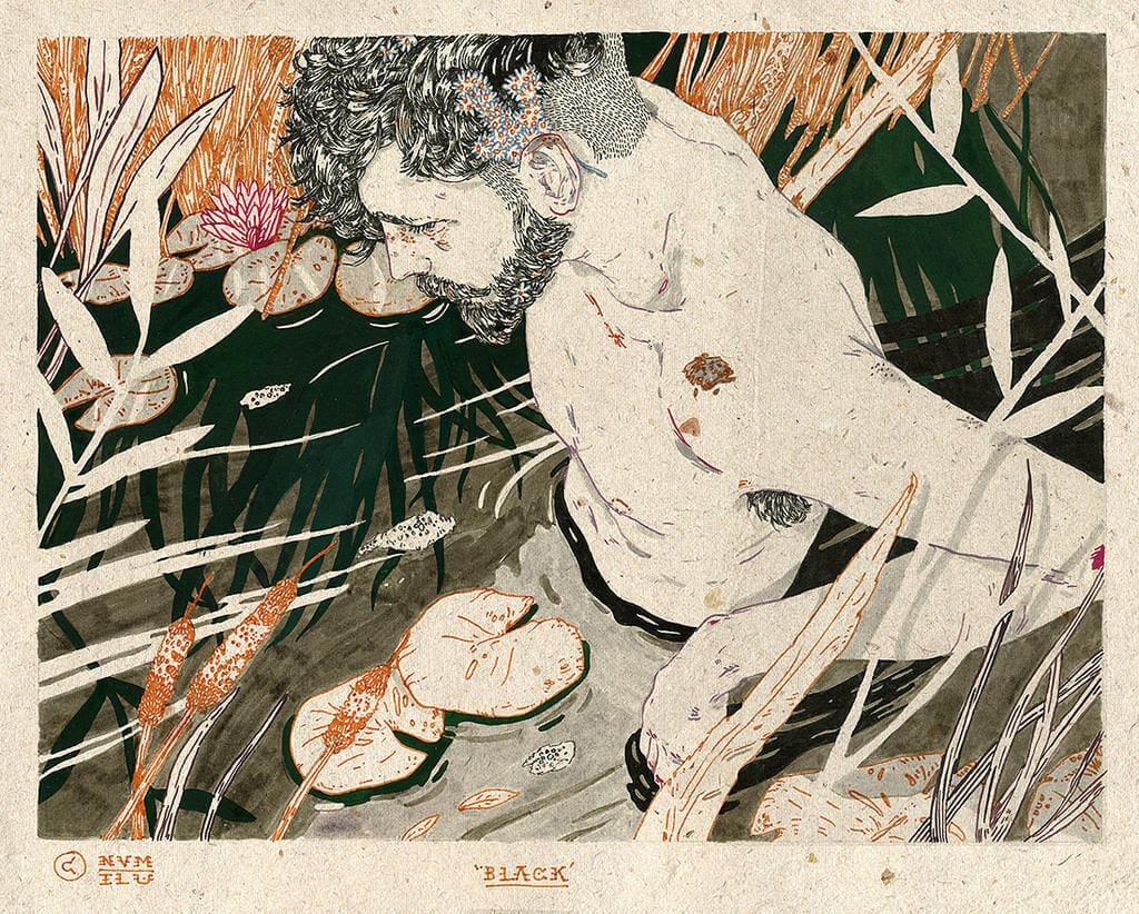Michael Howard illustration oldskull 6