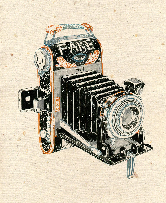 Michael Howard illustration oldskull 8