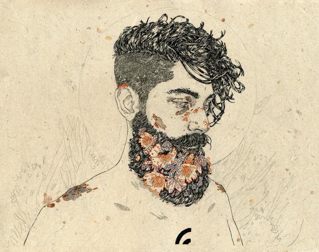 Michael Howard illustration oldskull 9