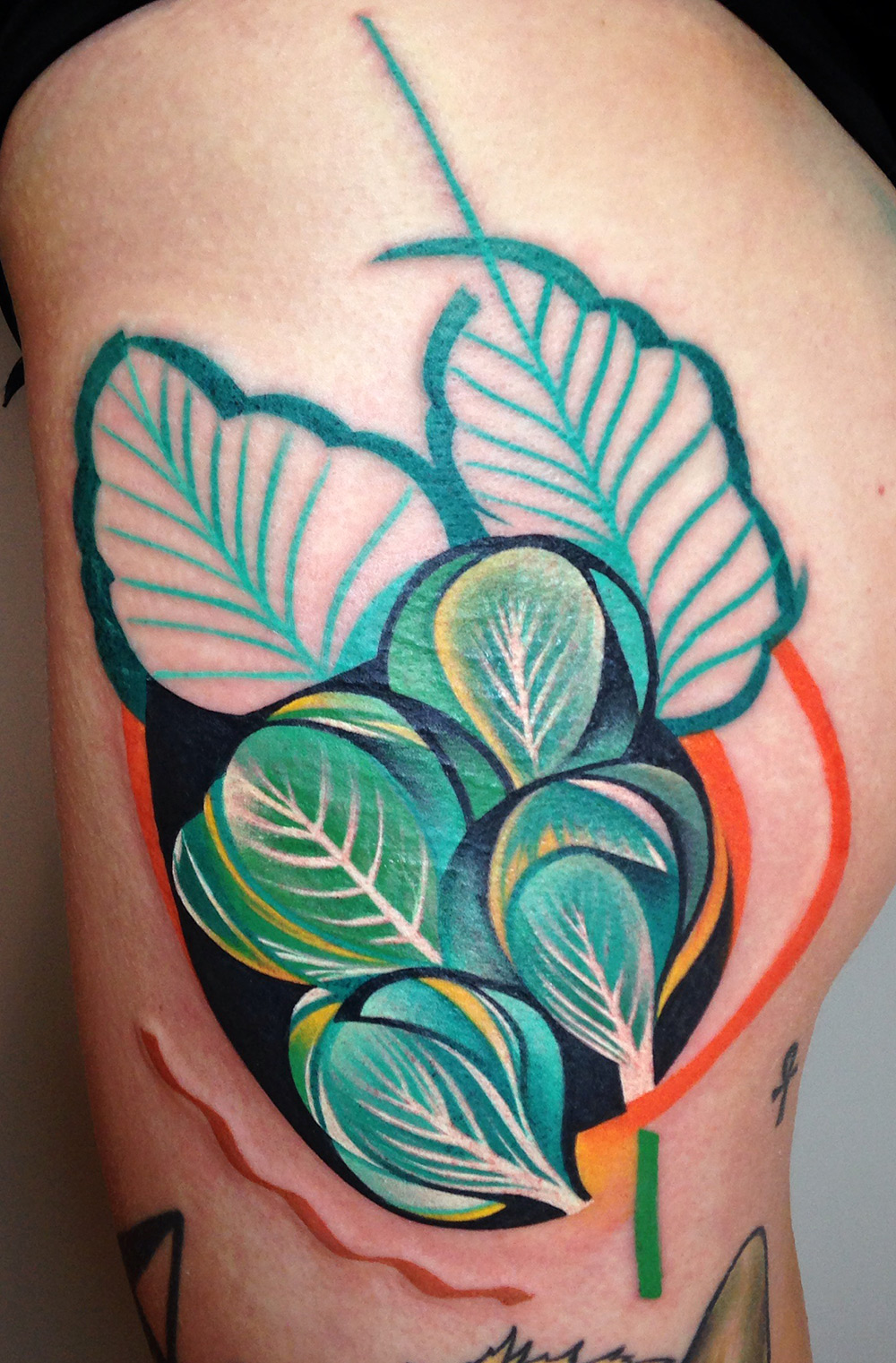 New Cubist Tattoos by Peter Aurisch(4)