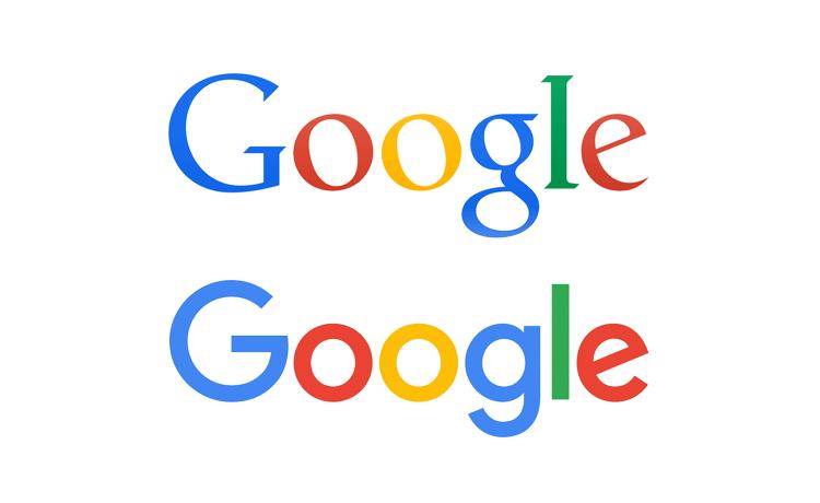 google new logo vs old oldskull