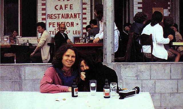 oldskull Last Known Photos of Jim Morrison in Paris on June 28, 1971(4)