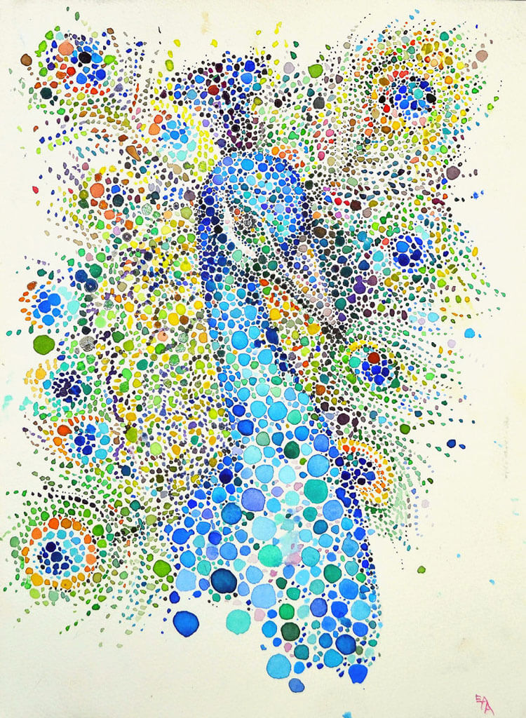 Ana Enshina arte a puntos oldskull 8