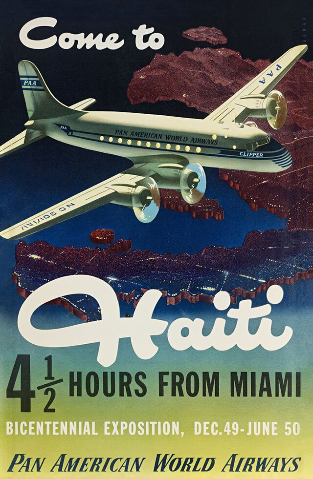 The Golden Age of Air Travel Beautiful Vintage Airline Posters - 03