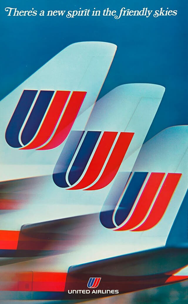 The Golden Age of Air Travel Beautiful Vintage Airline Posters - 33