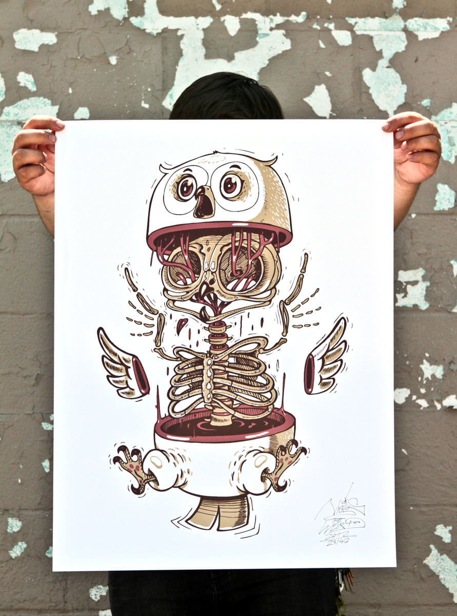nychos street art illustration 11