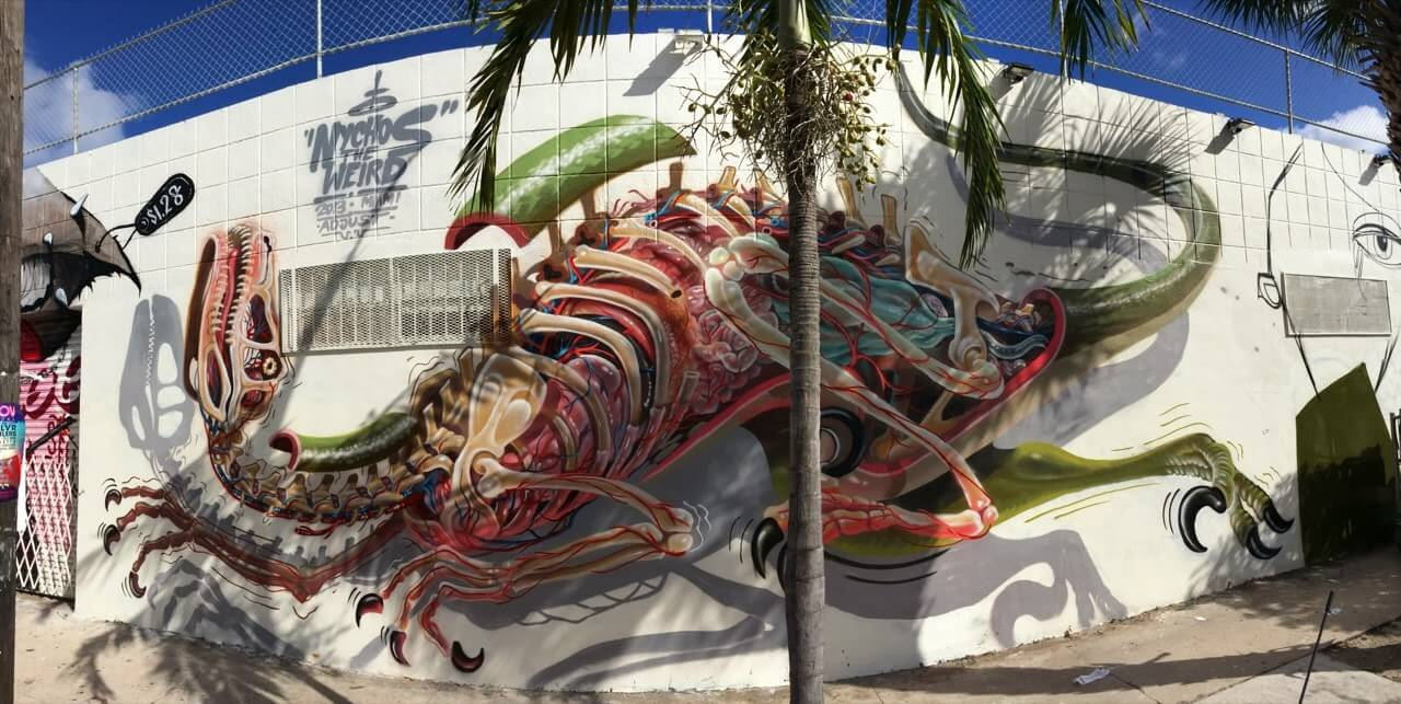 nychos street art illustration 14