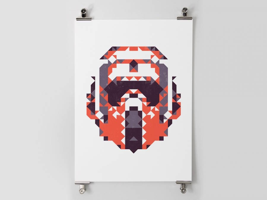 star wars polygon posters 7