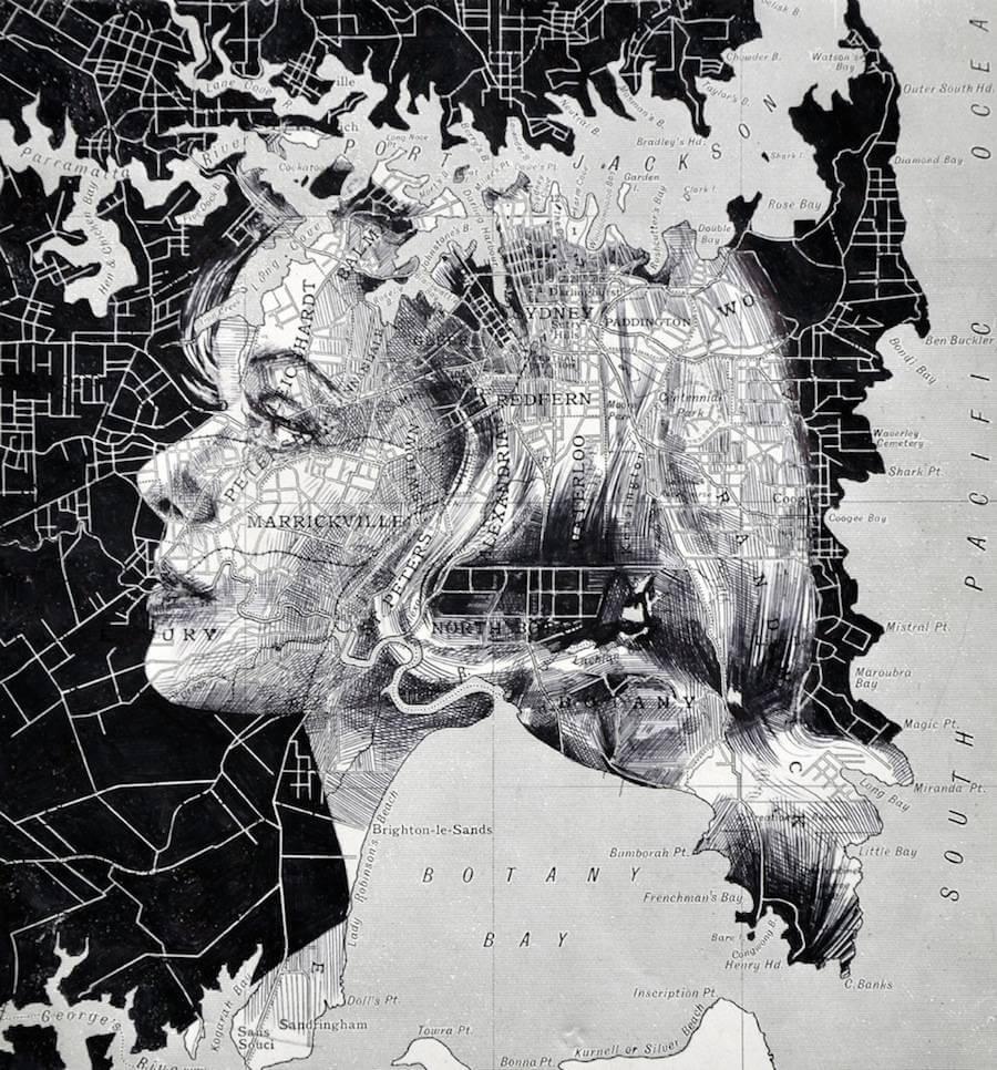 Portraits Drawn on Maps by Ed Fairburn  (8)