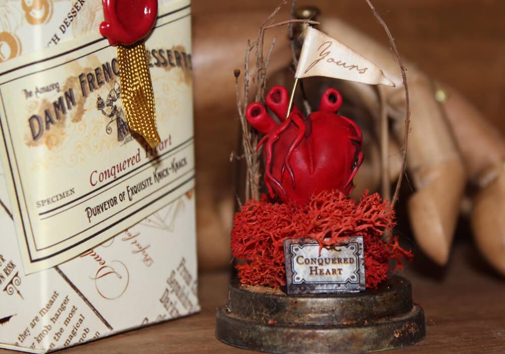 esculturas en miniatura grotescas oldskull 3-1
