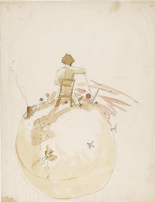 el principito dibujos ilustraciones 2