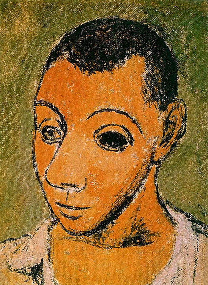 Picasso Self Portrait Evolution From Age 15 To Age 90  (4)