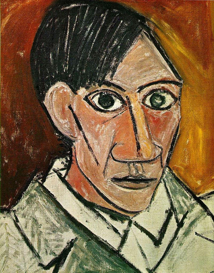 Picasso Self Portrait Evolution From Age 15 To Age 90  (5)