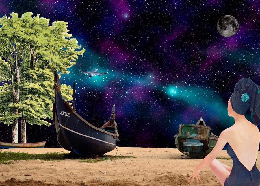 gloria sanchez collage ilustracion 3