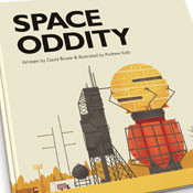 Space Oddity de David Bowie convertida en libro para nios
