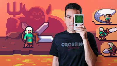 Curso de Animación de personajes en pixel art para videojuegos