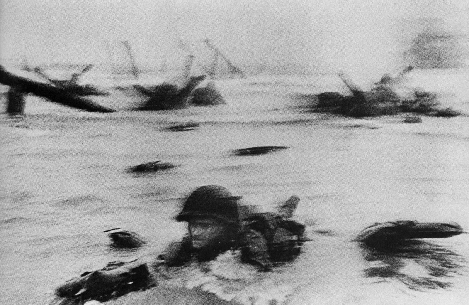 Robert Capa, Ed Regan Veteran of Omaha Beach D-Day Landing