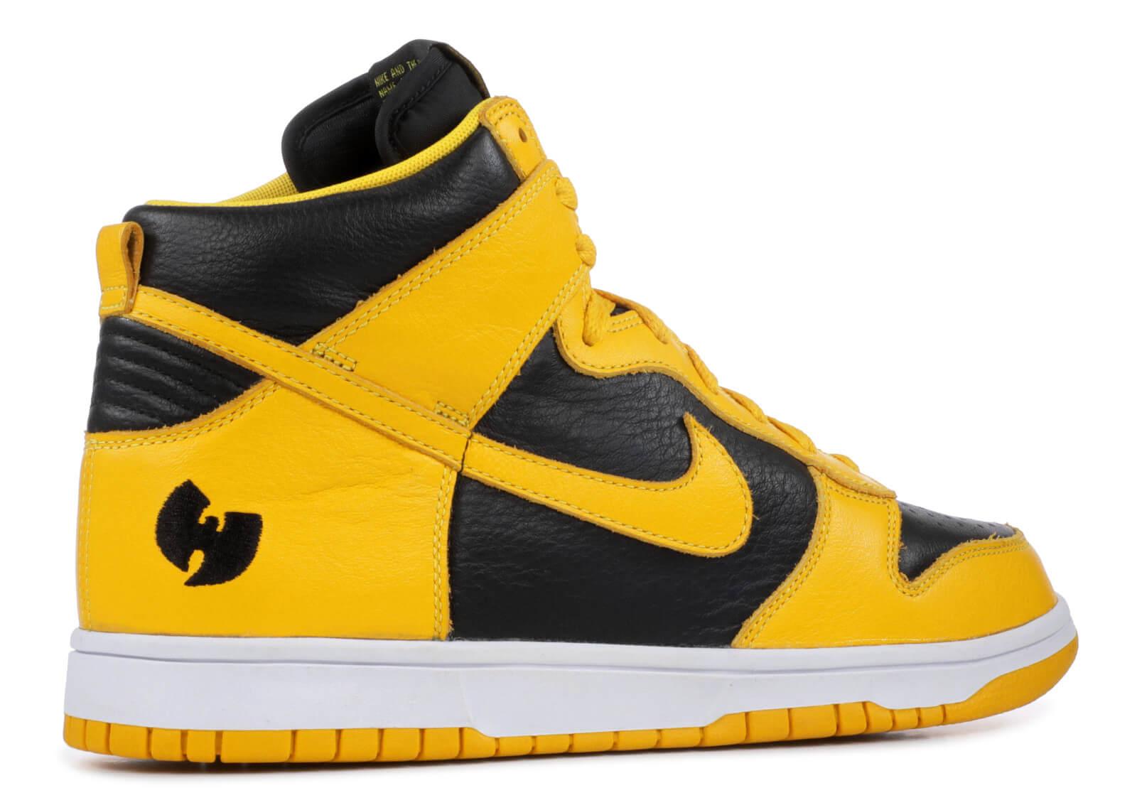 """Nike dunk high le """"wu-tang"""""""