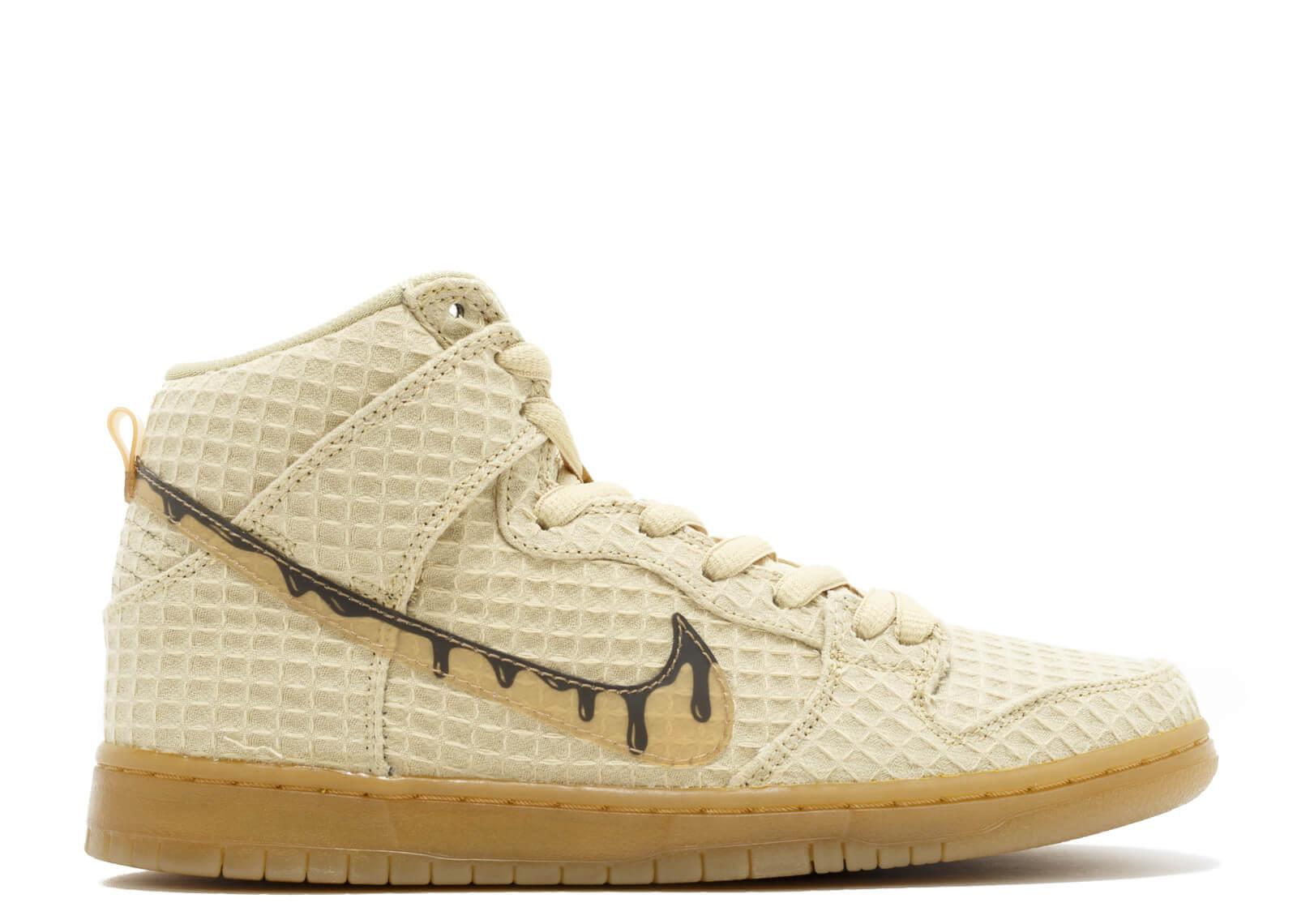 "Nike dunk high premium sb ""chicken and waffles"""